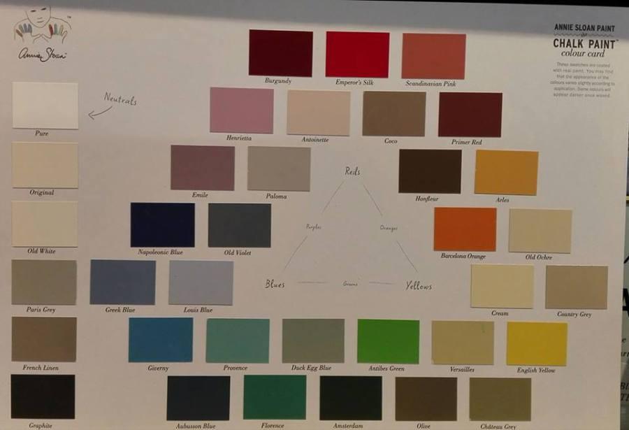 Galerie aufdemstrich - annie sloan Kreidefarbe